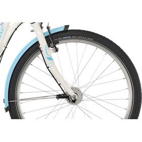 """Puky Skyride Light 24"""" Børnecykel 8-speed, forniklet Piger, white"""